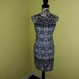 London Times Burke Blouson Dress